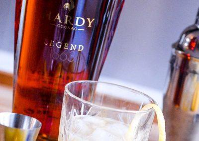 Cognac Sour avec le cognac Hardy